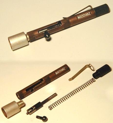 Как можно сделать из ручки пистолет
