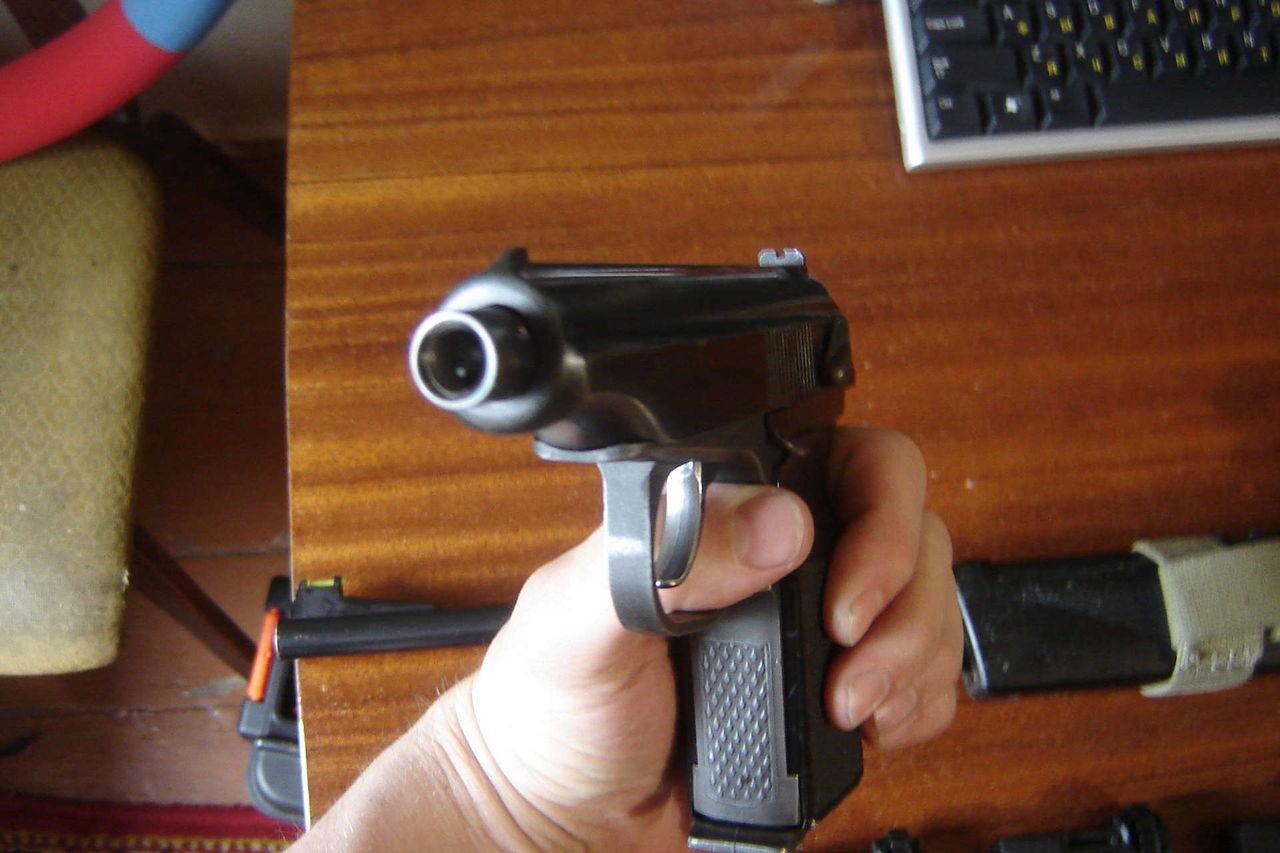Переделка пневматического пистолета (МР-654К) в боевой 11