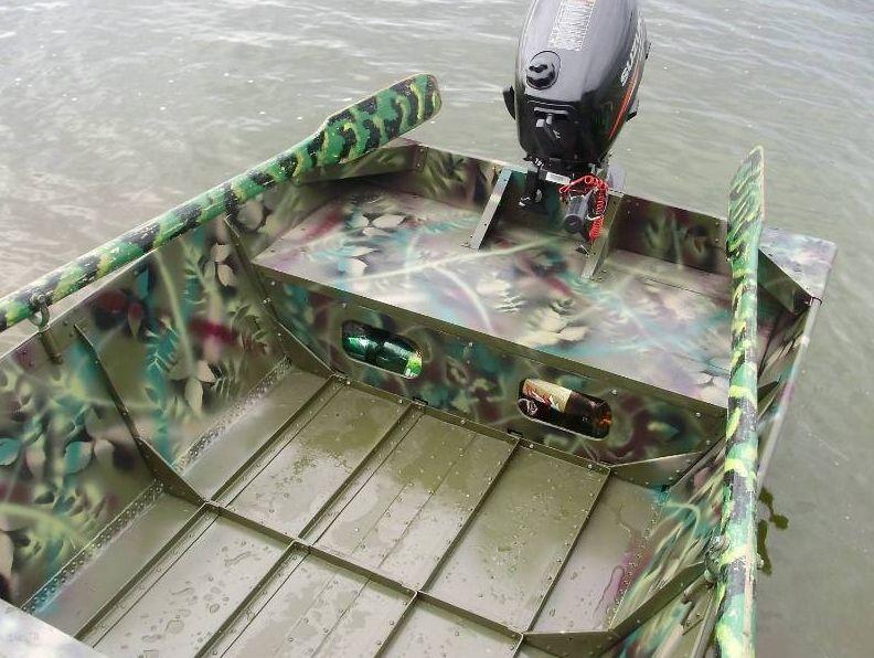 сделать лодку из дюрали своими руками