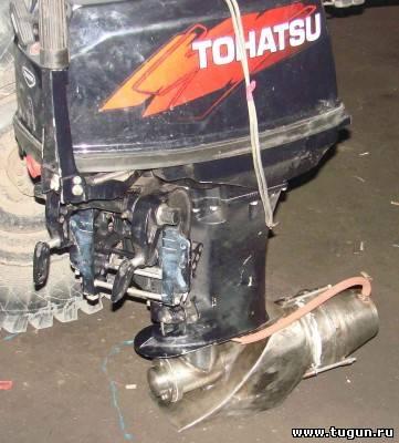 лодочные моторы на базе ваз