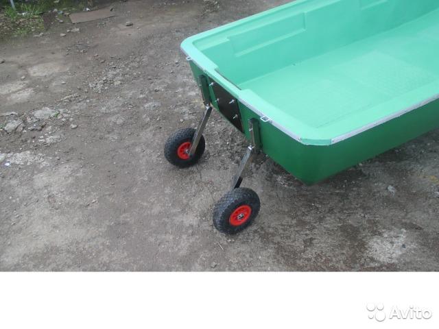 колеса для лодки из стеклопластика