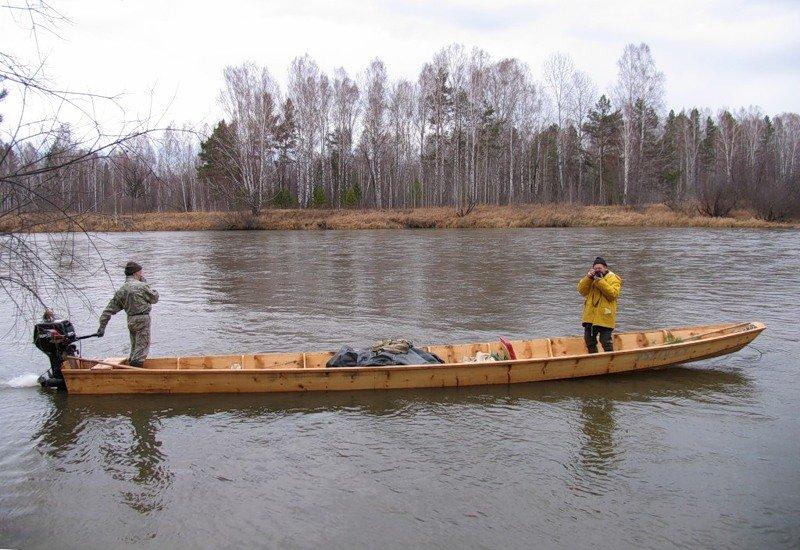 лодка для северных рек