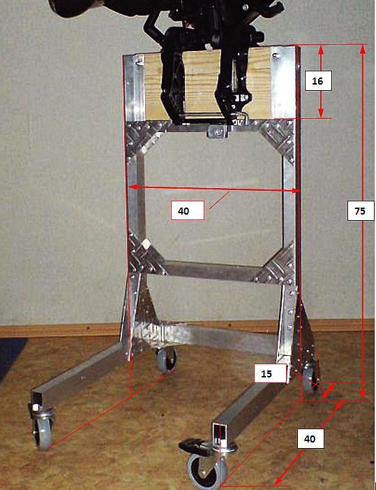Как сделать подставку для мотора