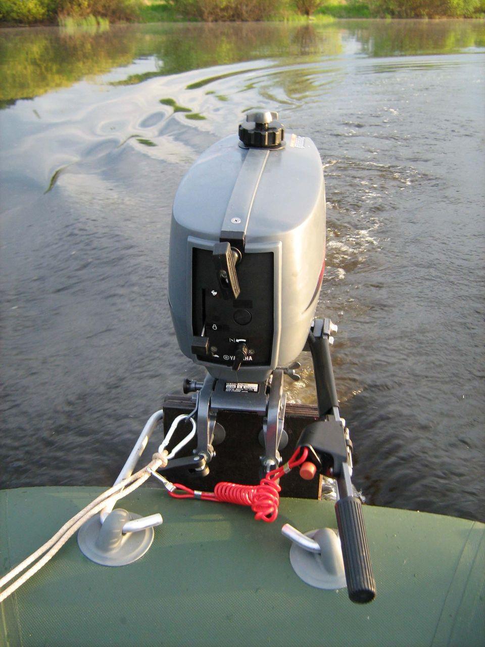 электро бензо мотор на лодку