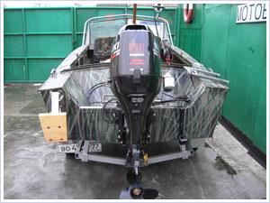 лодки прогресс под мотором 20 л.с видео