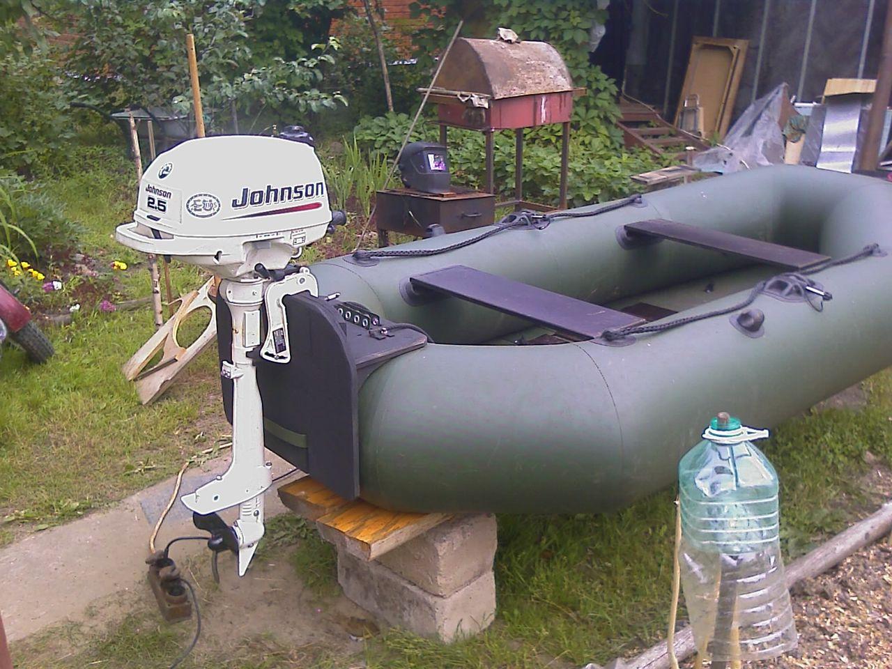 крепление для резиновых лодок под мотор