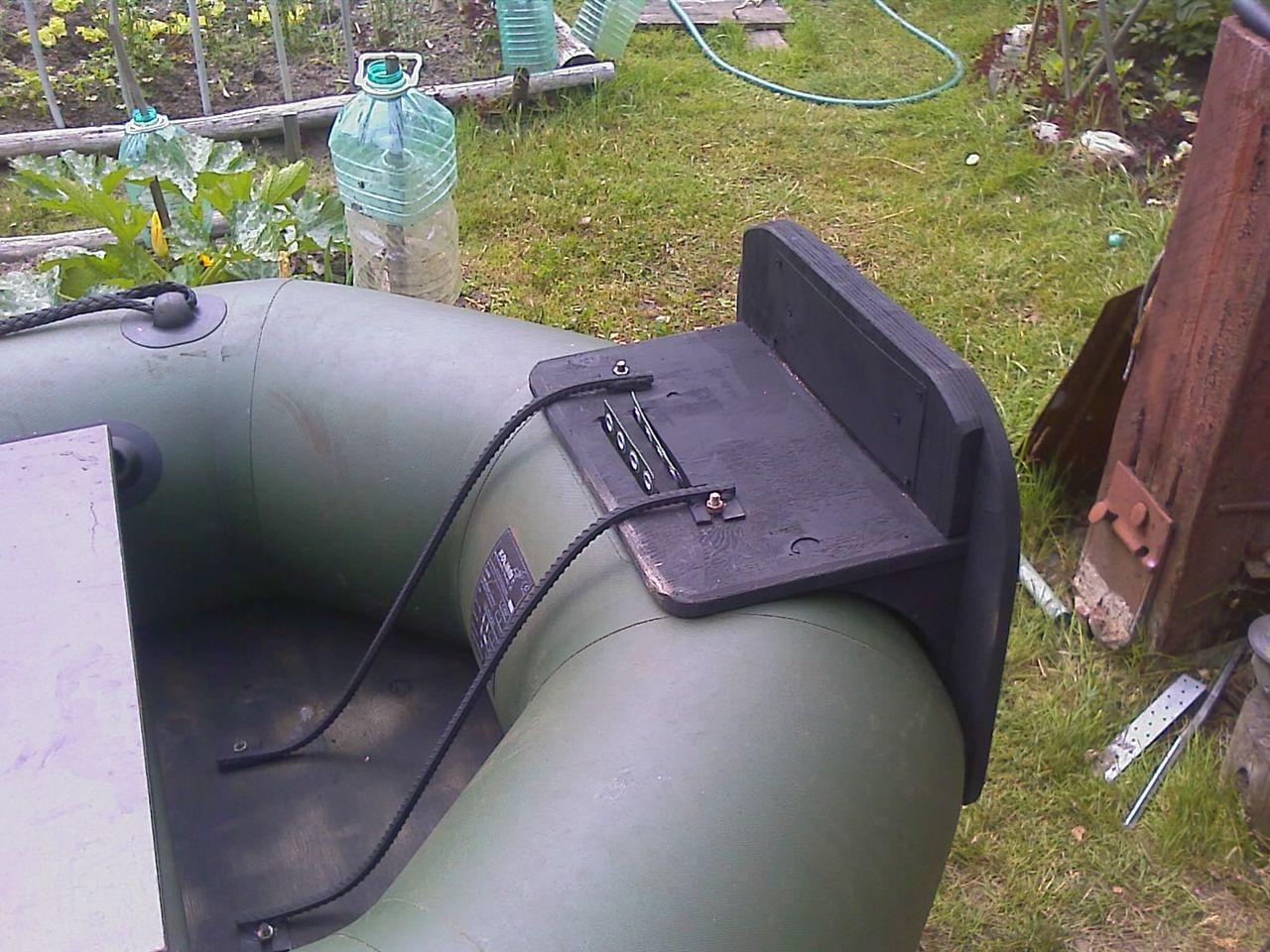 как сделать транец для надувной лодки своими руками