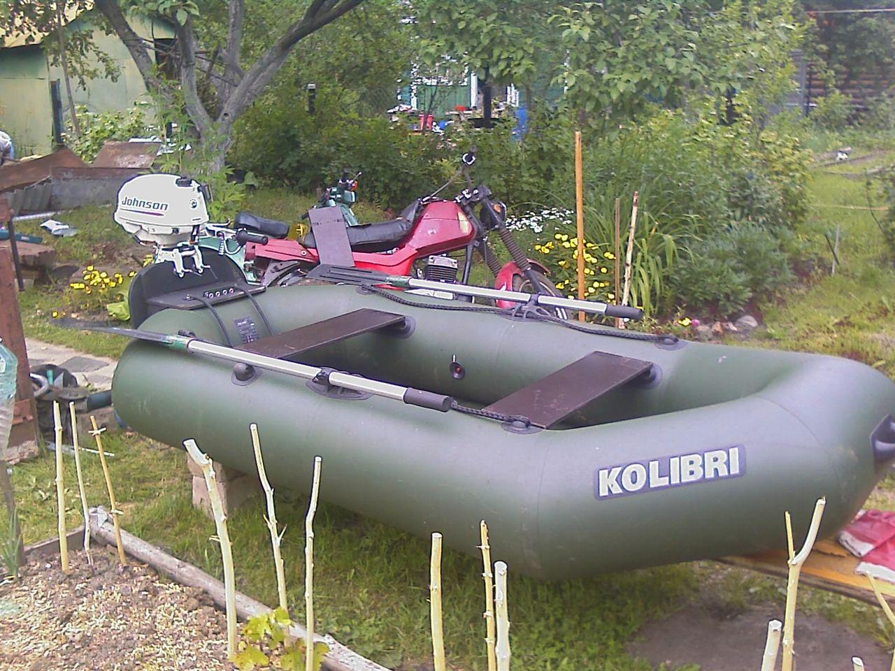 купить лодку пвх под мотор колибри