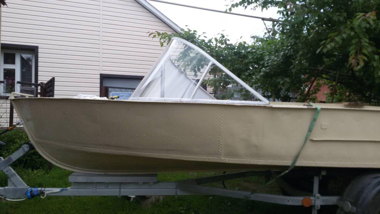 Фото поперечного редана на лодку мкм