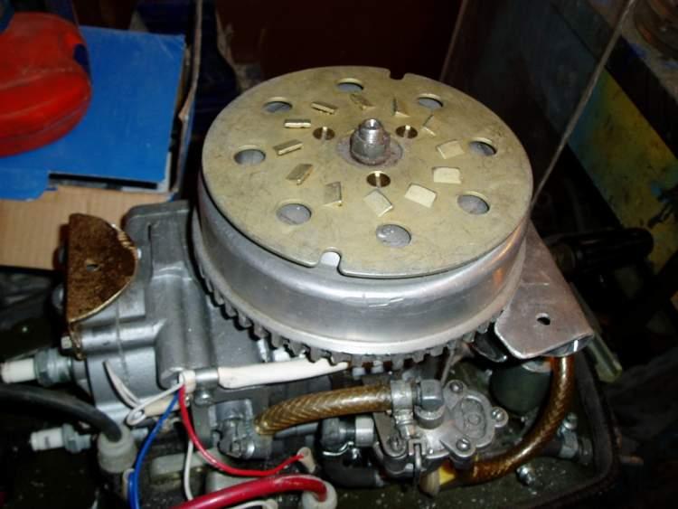верхний стартер на лодочный мотор ветерок