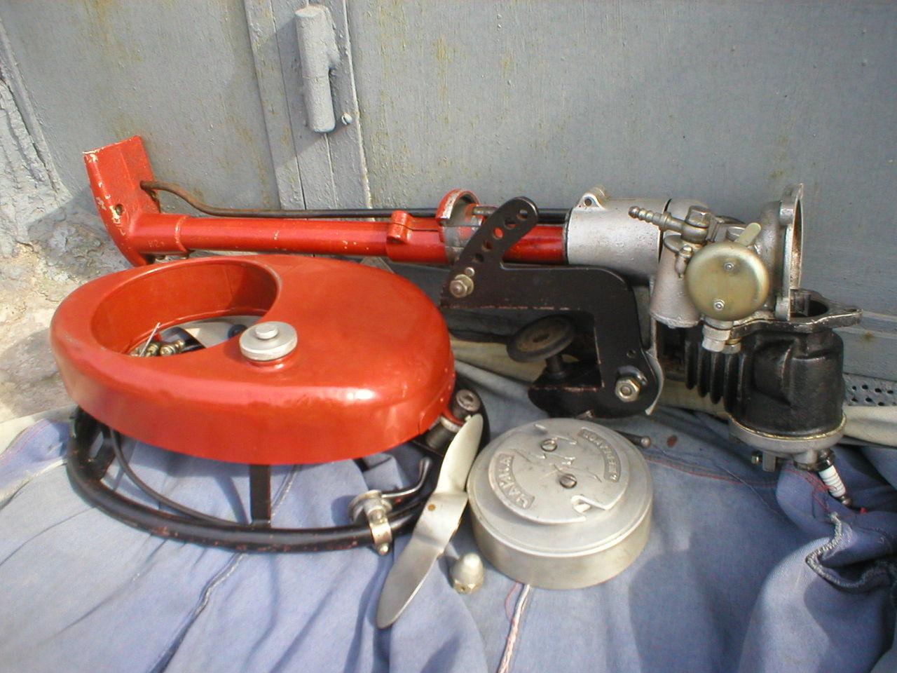 ремонт лодочных советских моторов