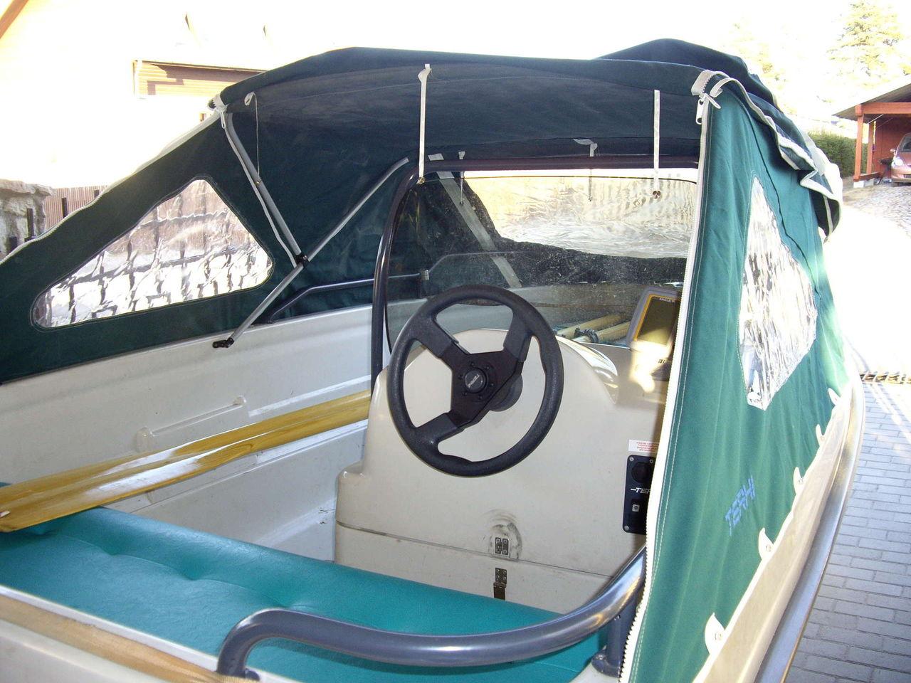 ходовой тент для лодки terhi