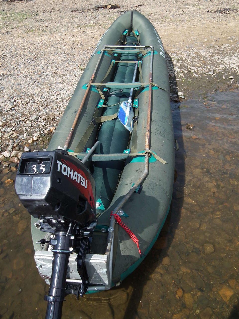 электромотор для лодки собрал