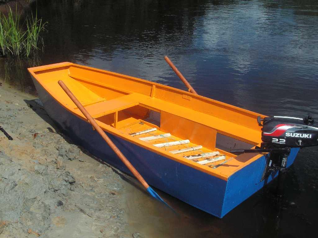 Самая простая лодка