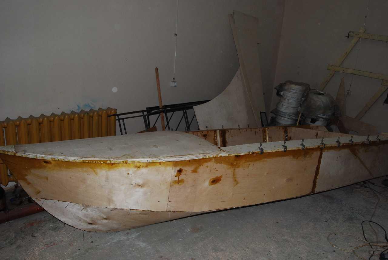 Как сделать яхту из пенопласта - Изобретения 47
