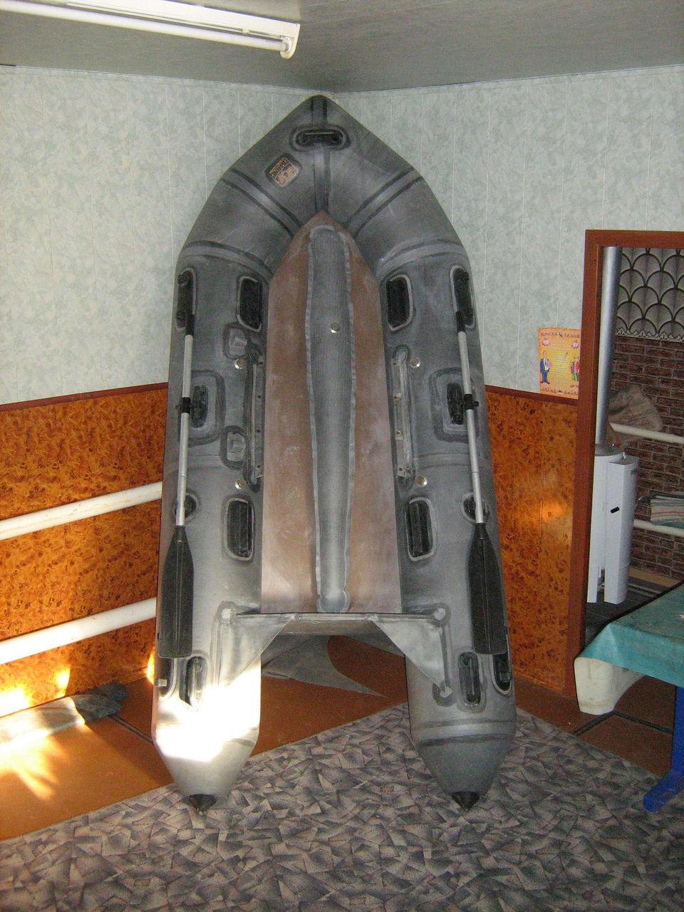 Киль для резиновой лодки своими руками