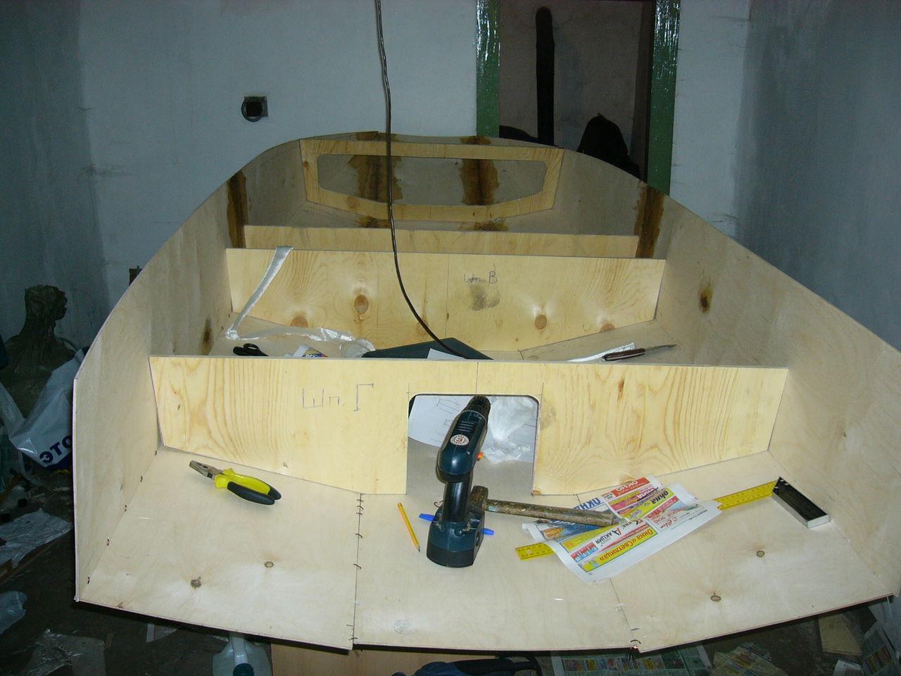 Сделайте лодку, яхту или катер своими руками 17