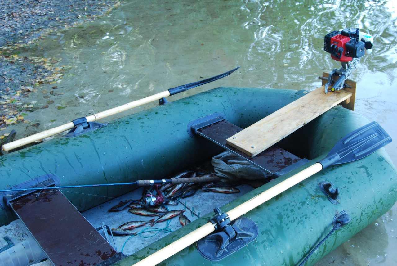 Надувная лодка с мотором своими руками