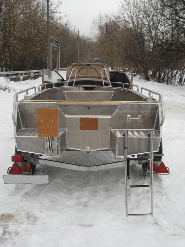 лодка мкм транцевая плита