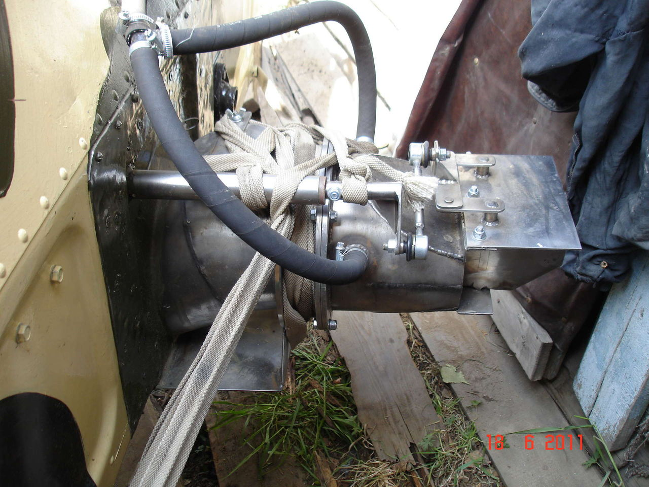 Изготовление щеливого водамёта своими руками