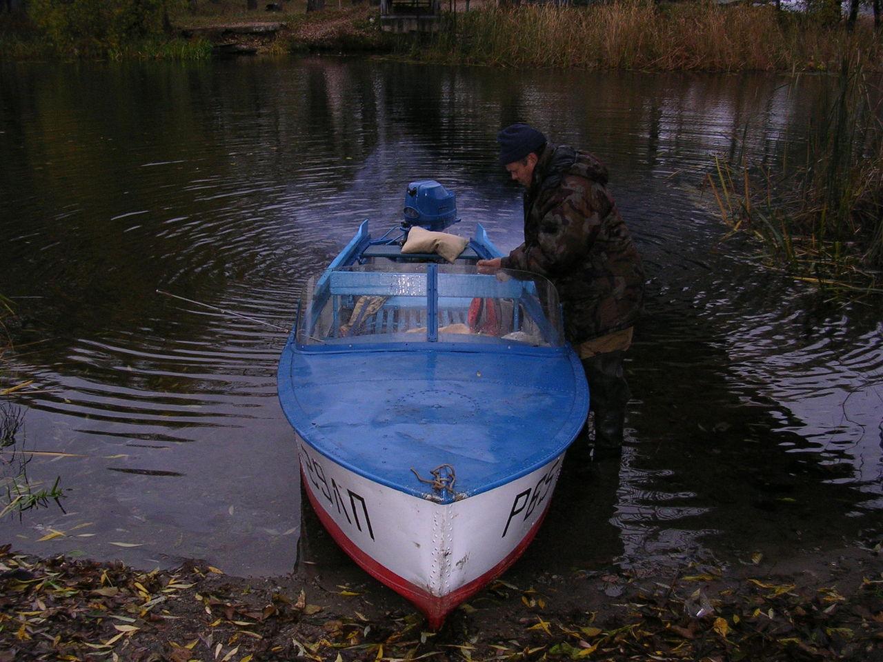 мотор лодки с крыльями