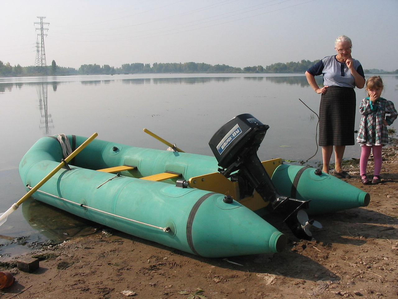 лодку резиновую ремонтировать