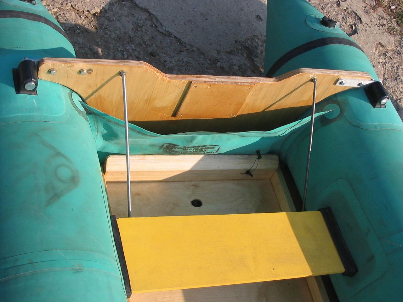 Как сделать пайолы для лодки пвх 89