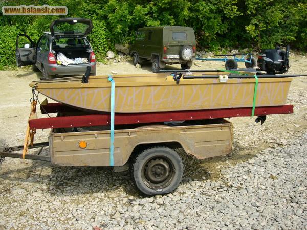 переделанные прицепы для лодок фото