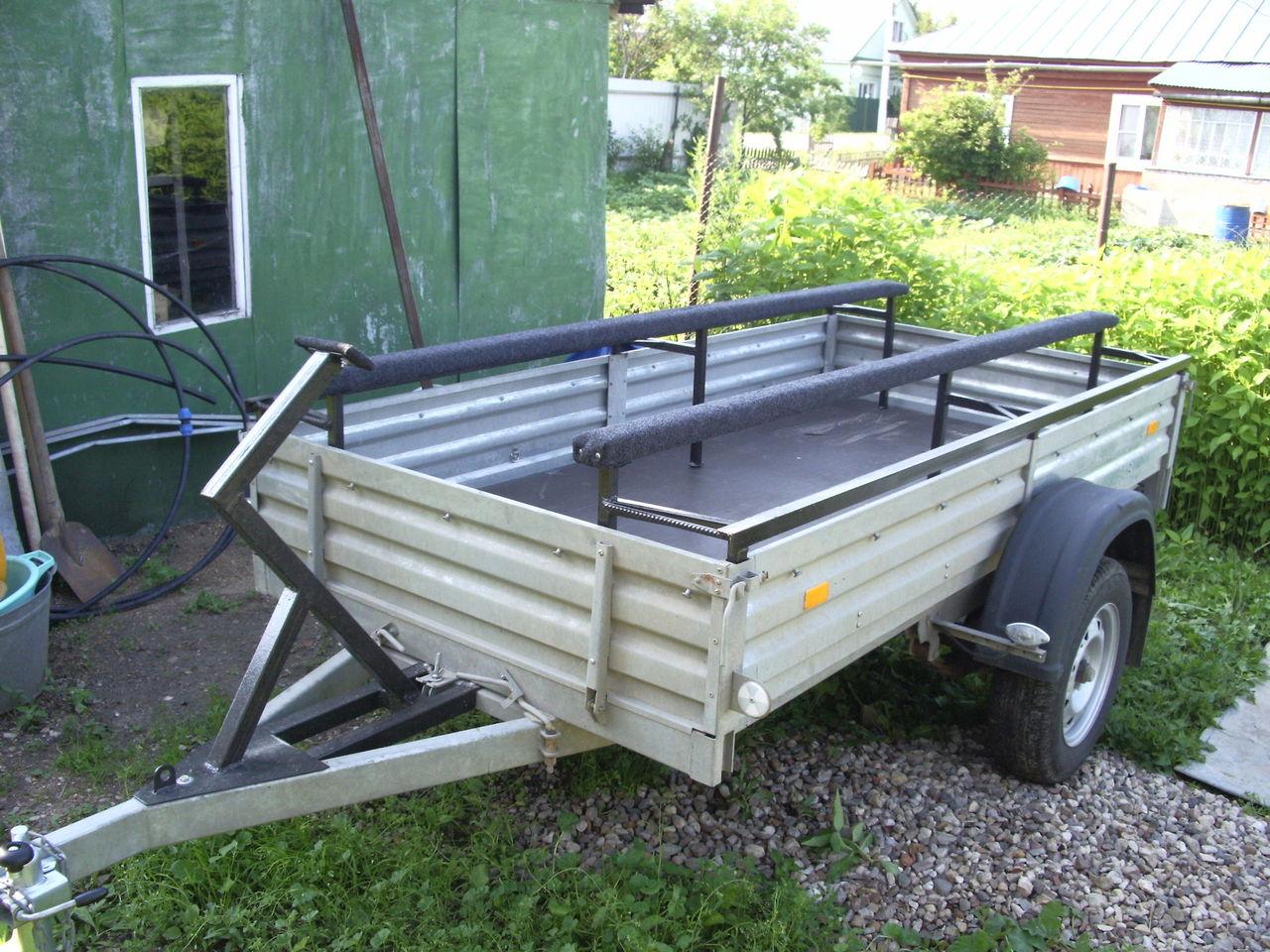 приспособления для перевозки лодок пвх