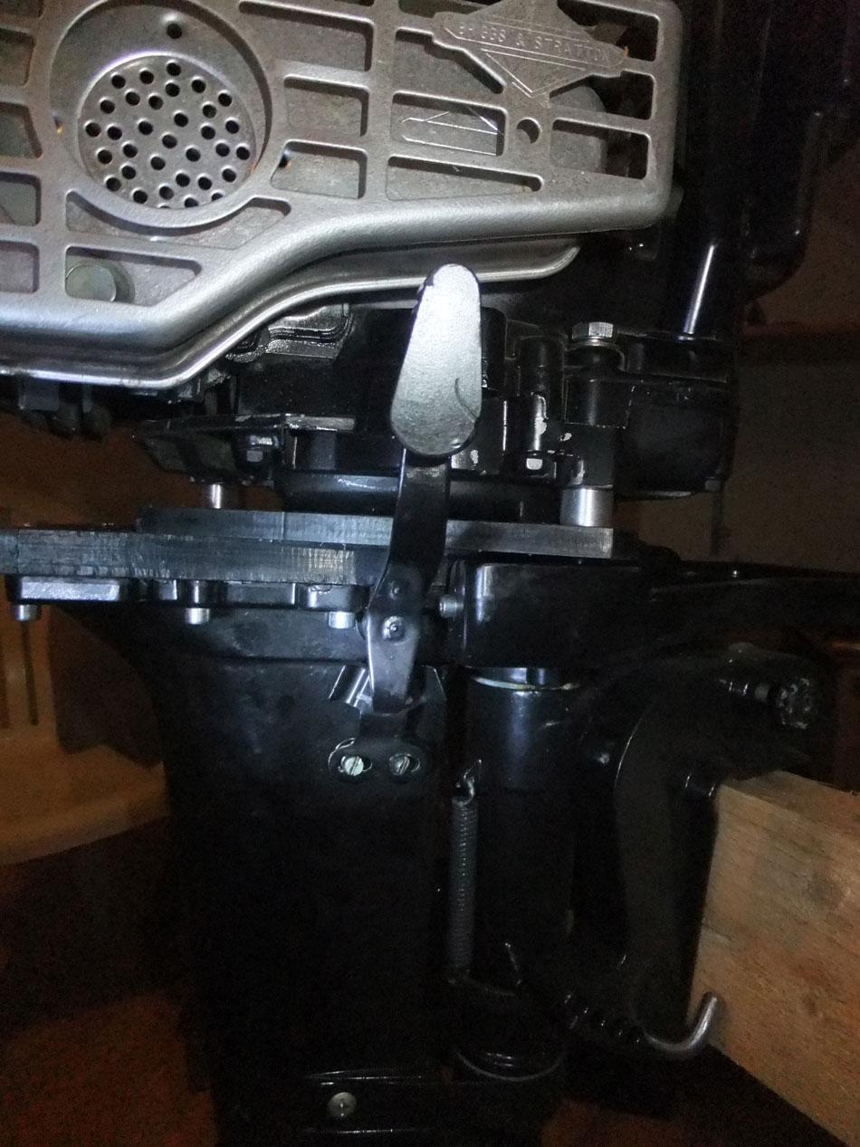 апгрейд лодочного мотора ветерок 8
