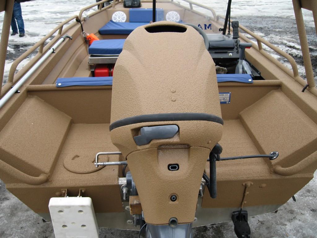 усиление лодок полимером