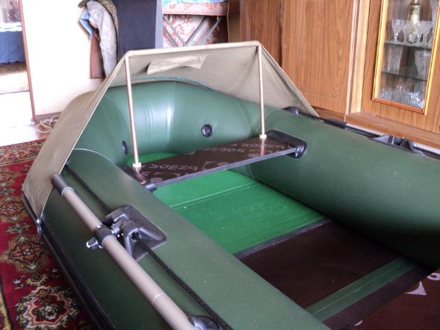 как сделать лодку из надувного матраса видео