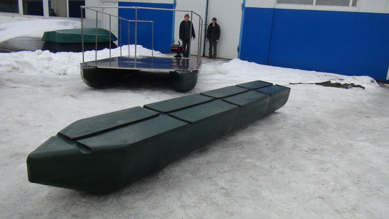 понтоны к лодке из пвх