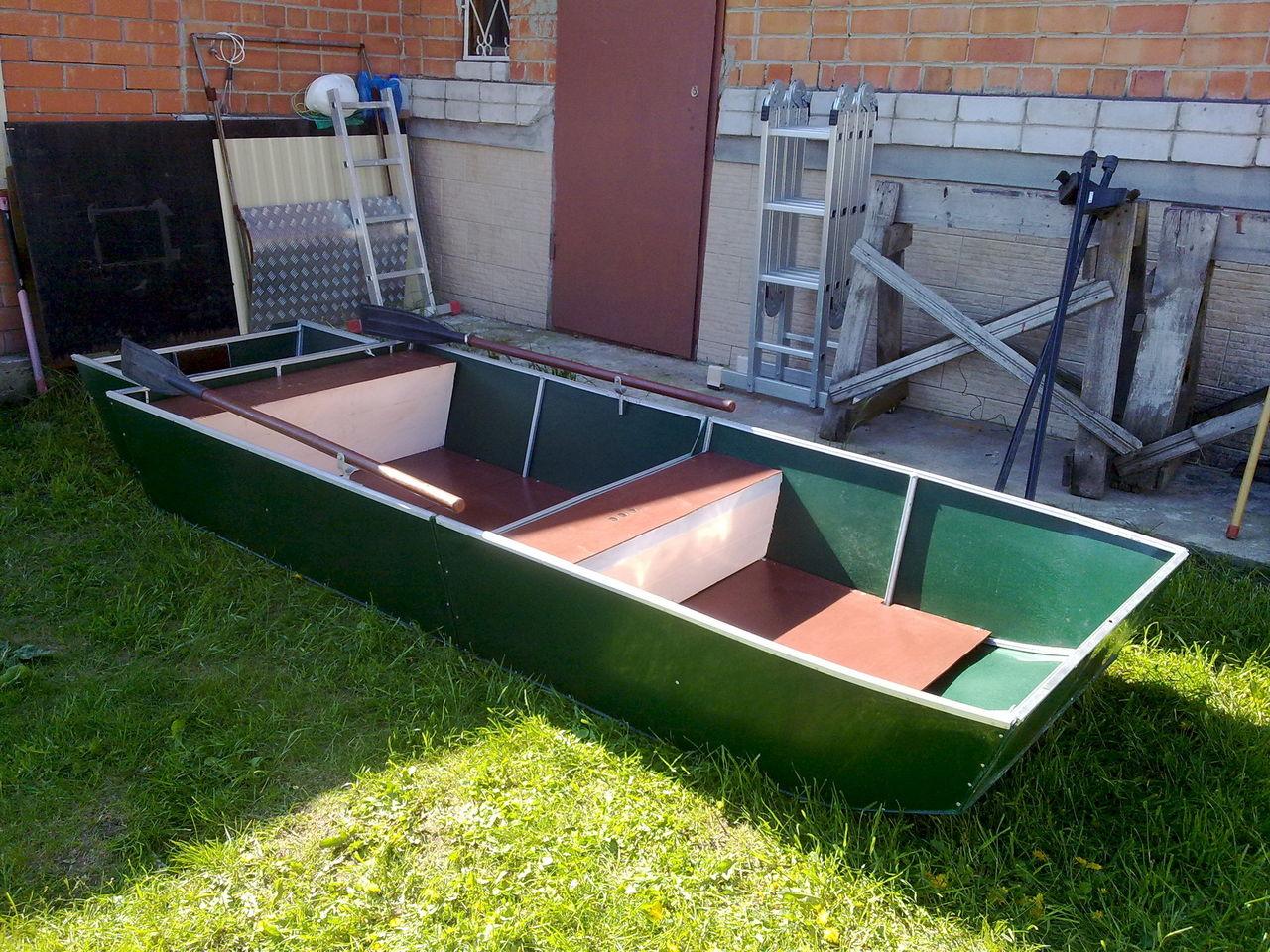 Лодка полиэтиленовая своими руками 4