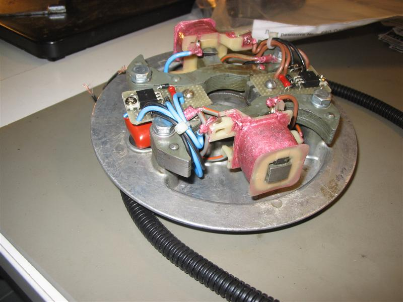переделать электронное зажигание на ветерке 8