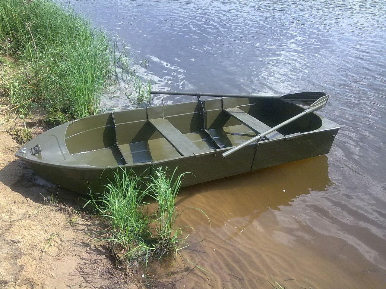 как самому сделать лодку для охоты
