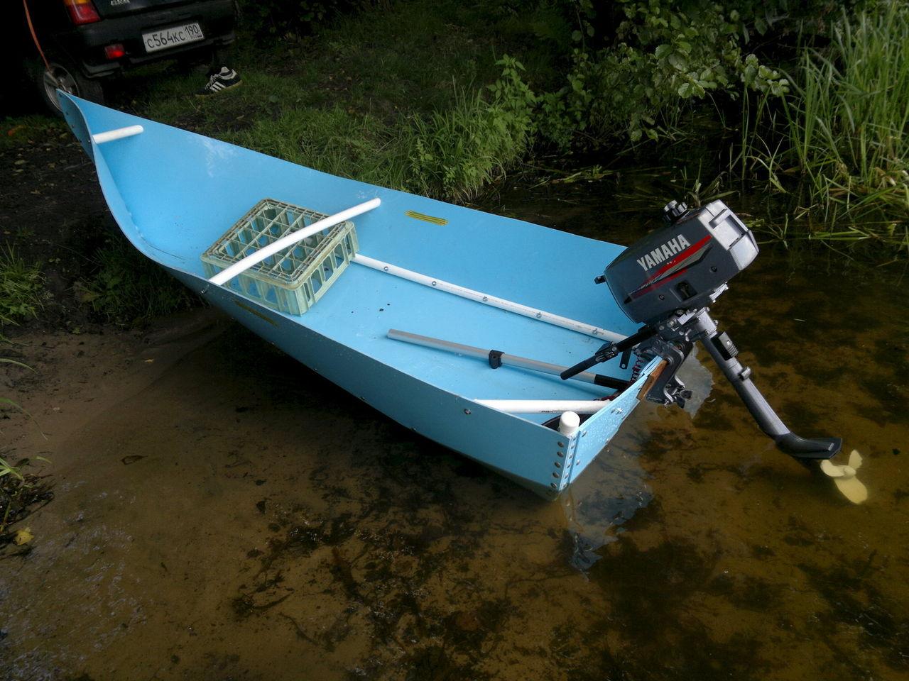 пластиковая лодка своими рукам