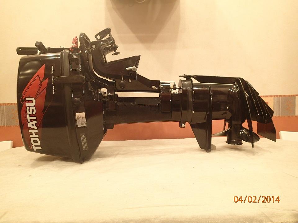 защита винта лодочного мотора тохатсу 9.8