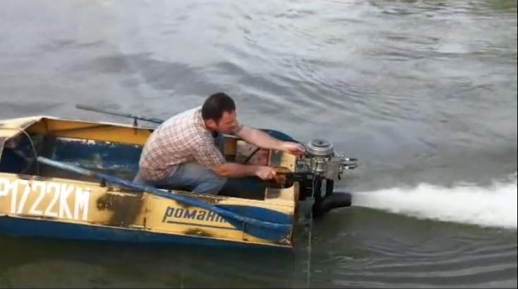 Мотор на лодку своими руками фото 368