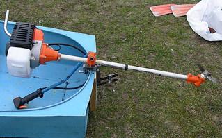 Лодочный мотор из газонокосилки своими руками 27