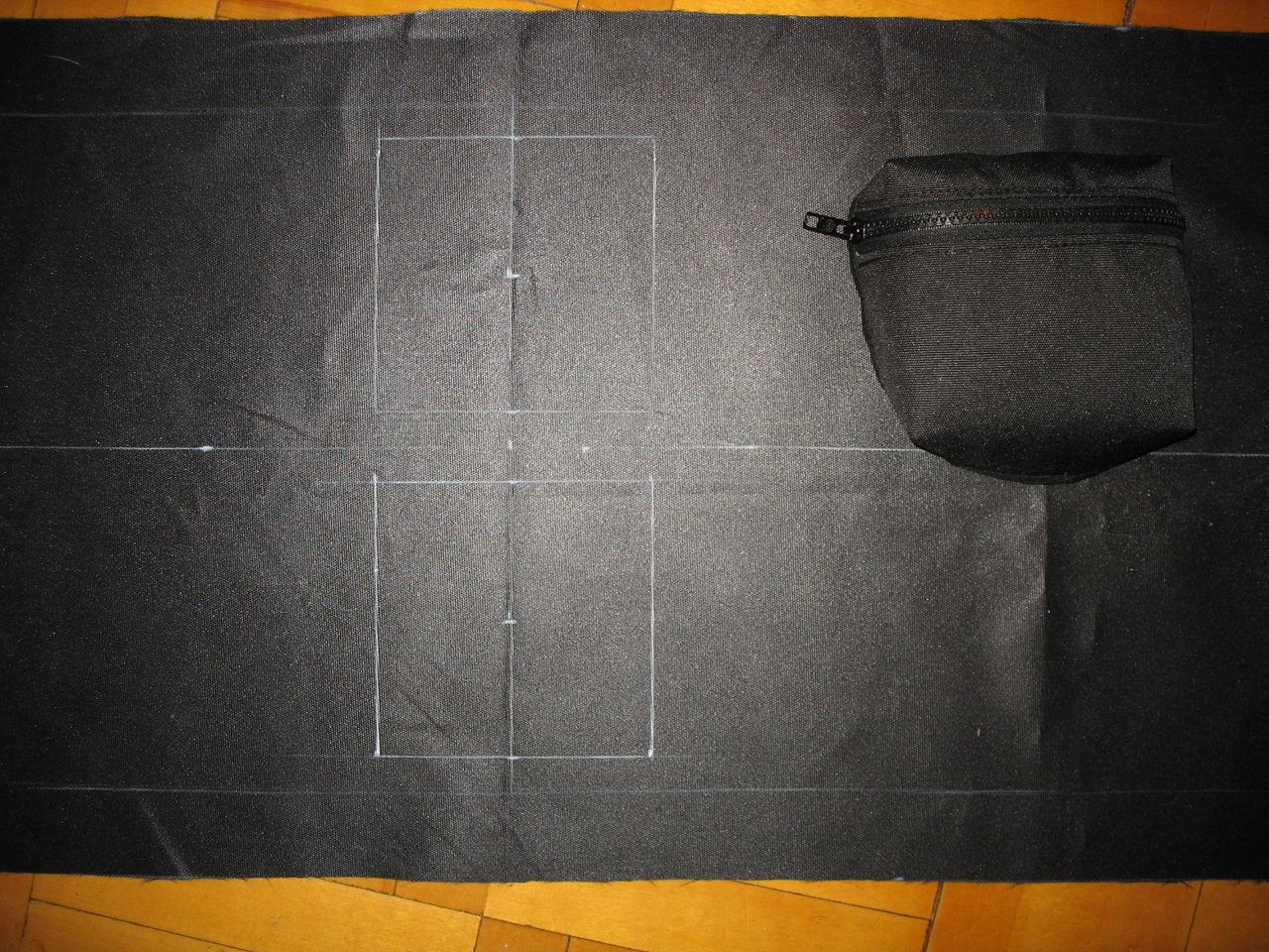 Выкройка для чехла пневматической винтовки фото 783