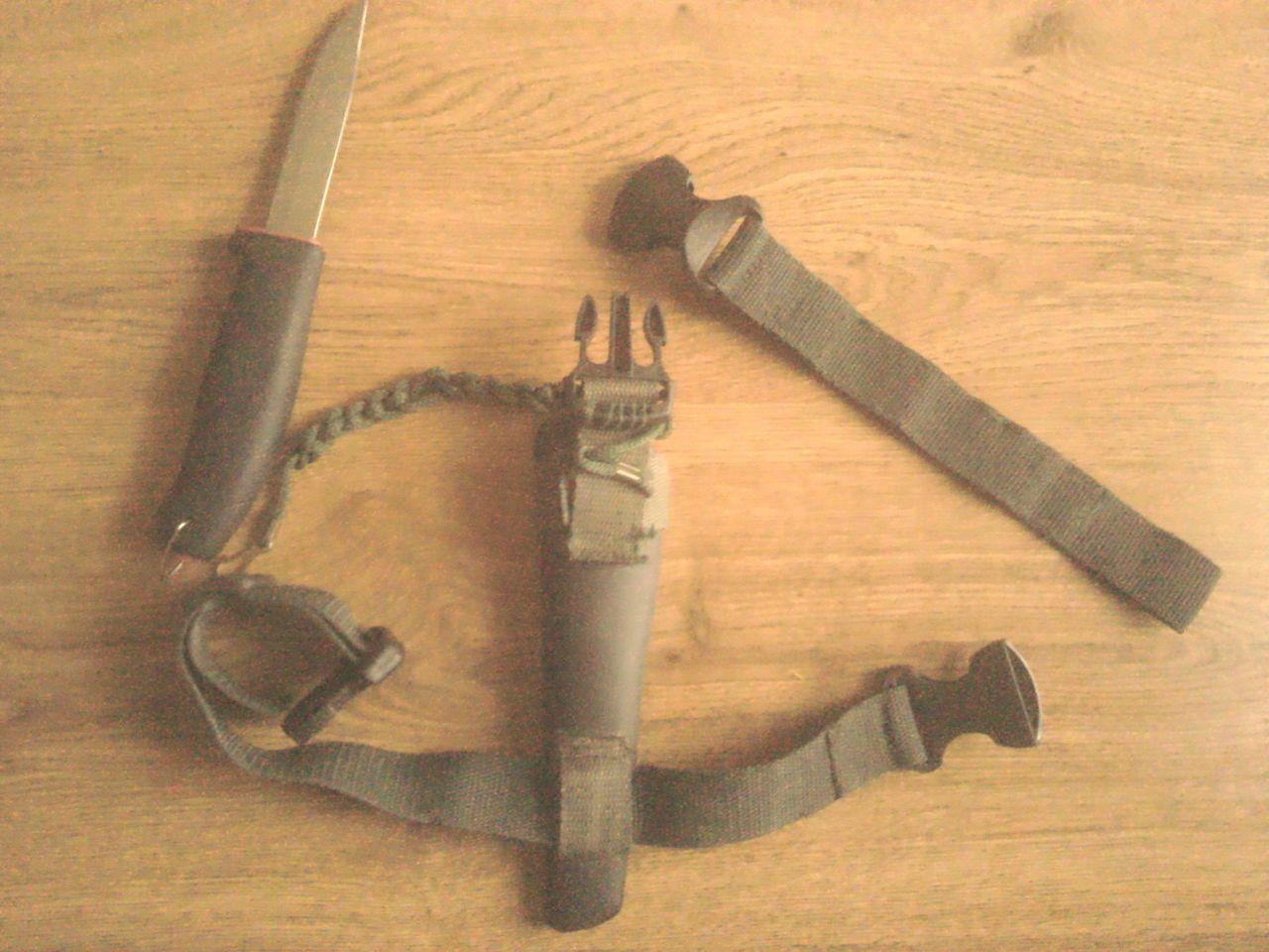 Система для скрытого ношения ножа своими руками
