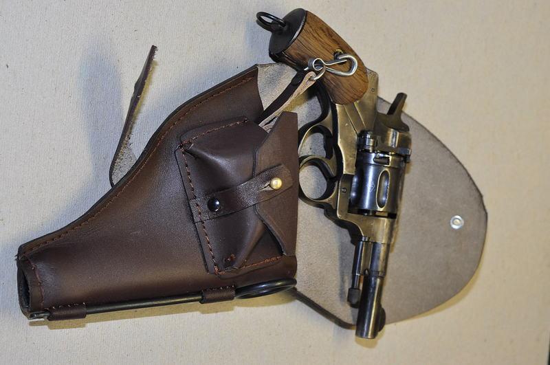 Выкройка кобуры для револьвера наган своими руками