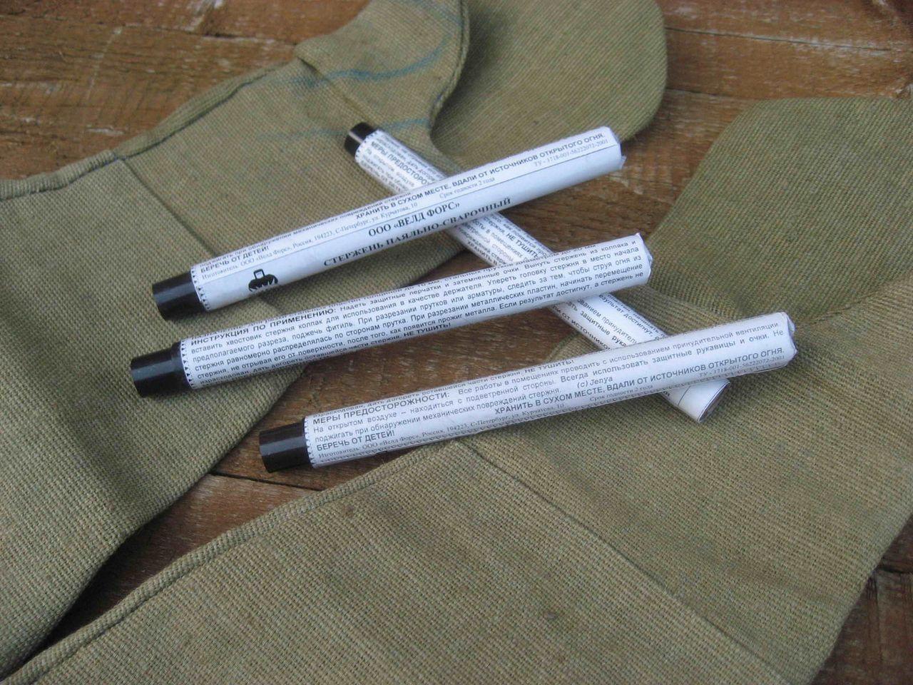 Сварочный карандаш своими руками