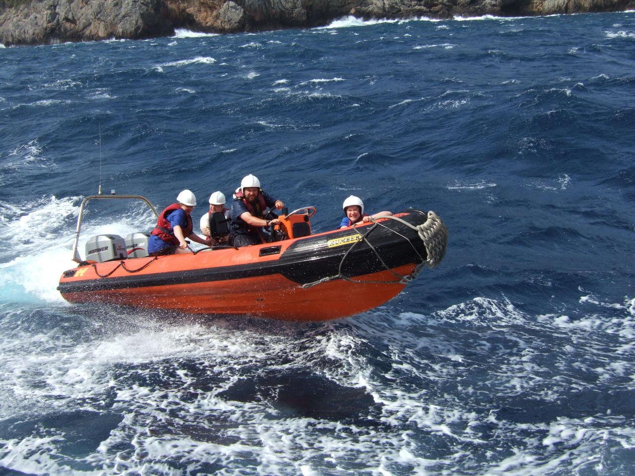 как ловить рыбу с яхты