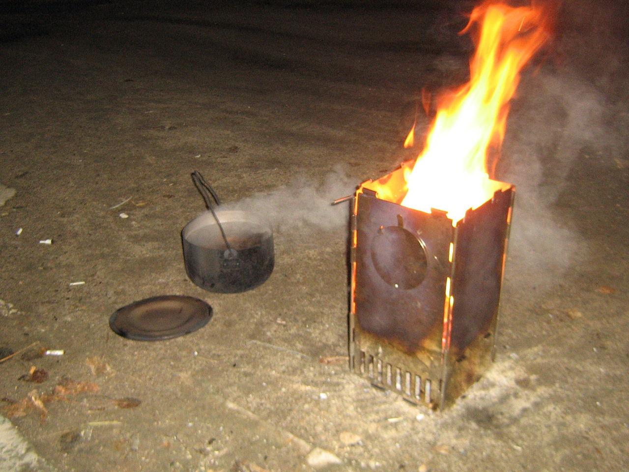 Печь для приготовления пищи на дровах своими руками 55