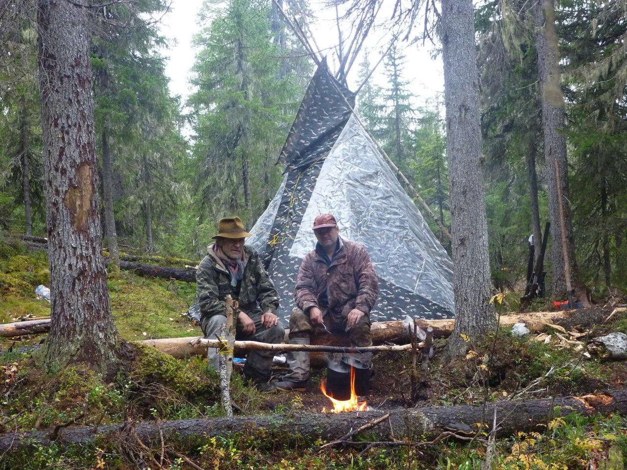 Как сделать костер в палатке