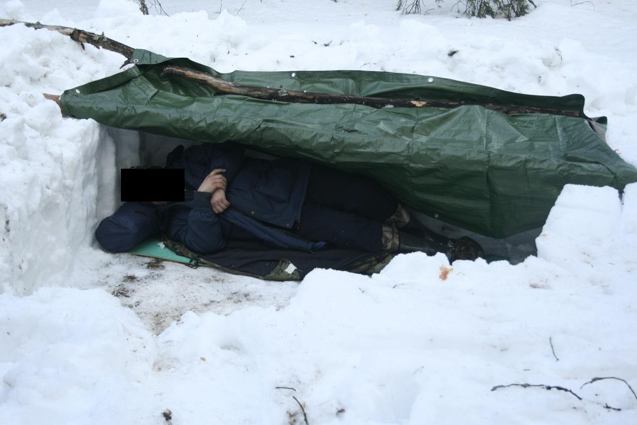 Как сделать укрытие зимой