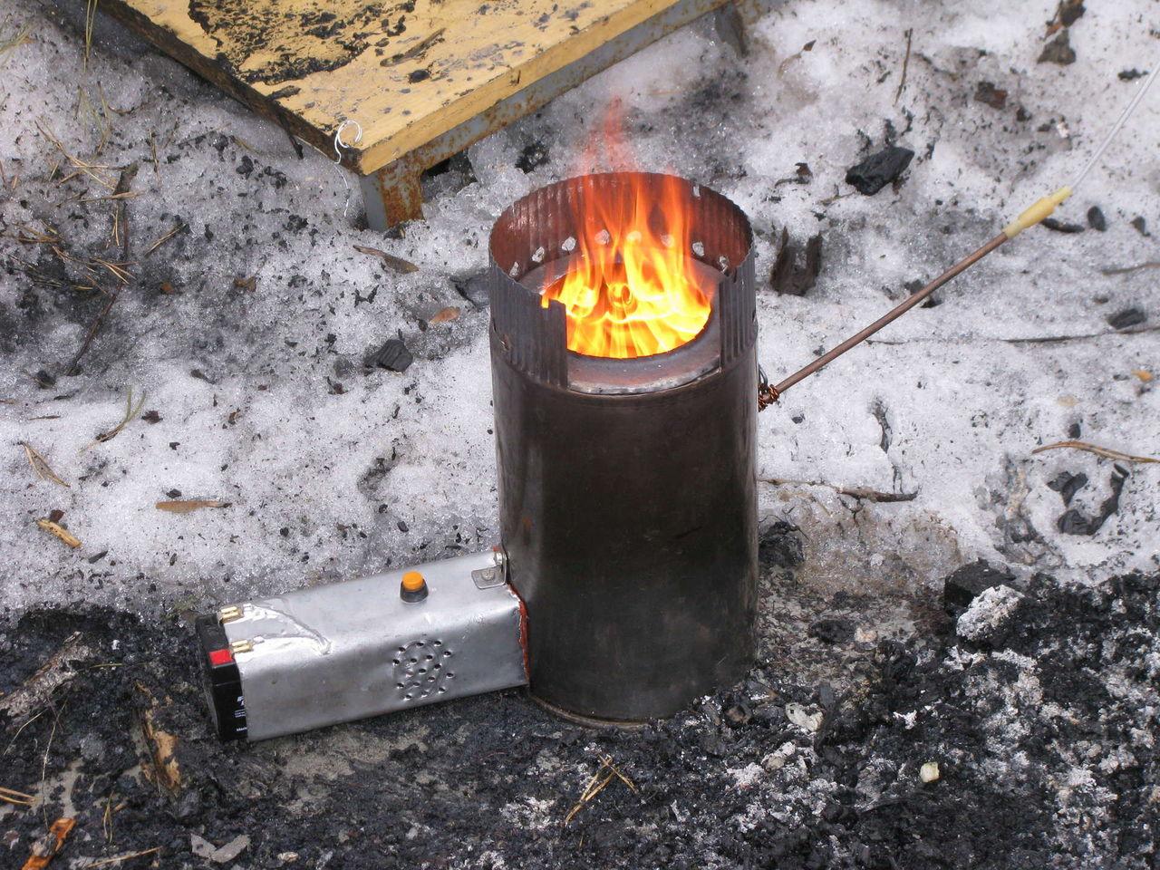 Печка на солярке своими руками 10