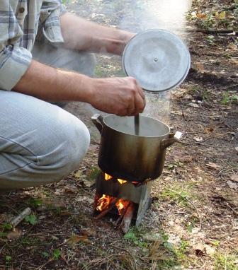 Печь для приготовления пищи на дровах своими руками 50